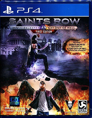 Saints Row IV: Re-Elected + Gat out of Hell (Zone 3) (Game-PS4) Playstation 4 (Saints Row Re Elected compare prices)
