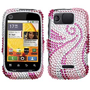 Diamond Phone Protector Cover Case Phoenix Tail For Motorola Citrus