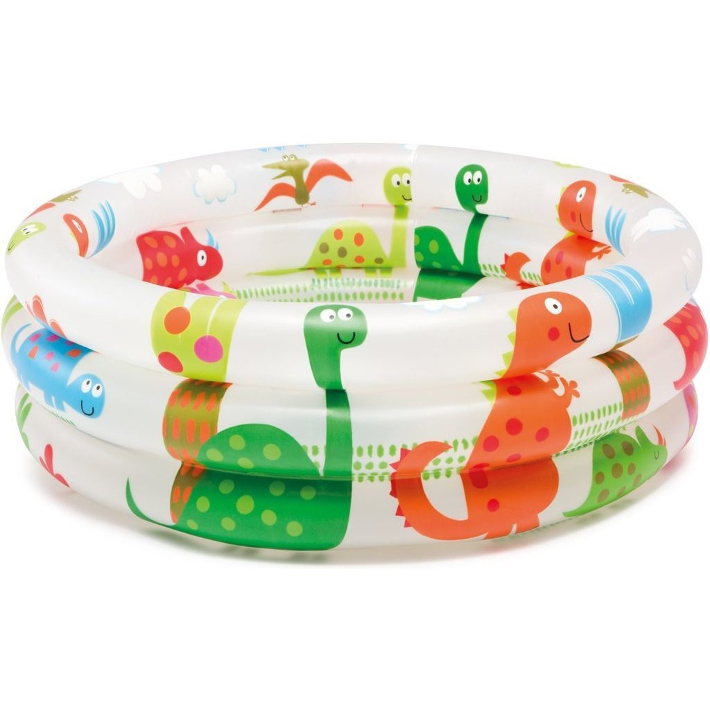 Intex Dinosaur 3 Ring Baby Pool (24 in x 8.5 in)