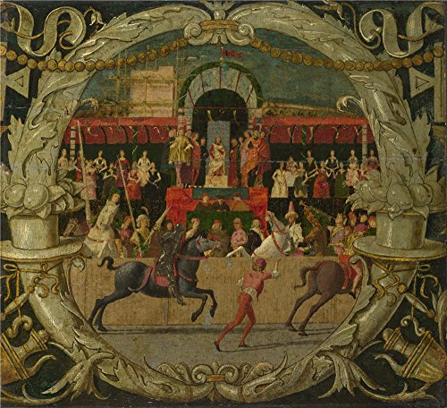 oil-painting-domenico-morone-the-rape-of-the-sabines-before-the-signalabout-1490-18-x-20-inch-46-x-5