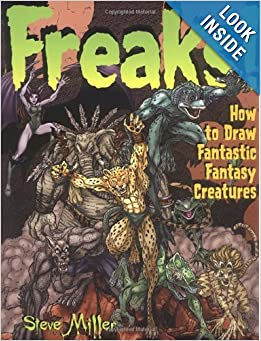 freaks how to draw fantastic creatures