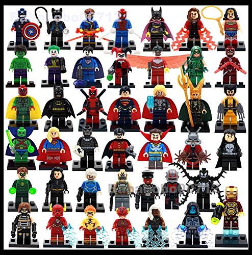 [42 Sets MiniFigures Super Series 2016 New version] (Dc Sandman Costume)