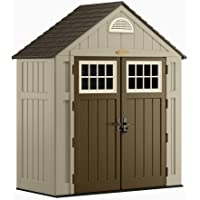 Suncast Alpine 3 ft. 8 in. x 7 ft. 6 in. Resin Storage Shed