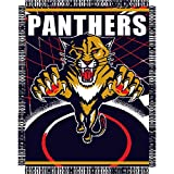 "Florida Panthers NHL Triple Woven Jacquard Throw (019 Series) (48""x60"")"