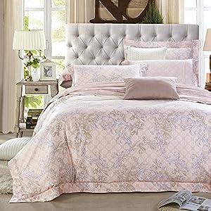 American pima cotton 1500t 4 piece duvet for Pima cotton comforter