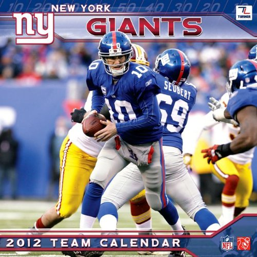 New York Giants Calendar