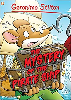 Geronimo Stilton Graphic Novels #17: The Mystery of the ...