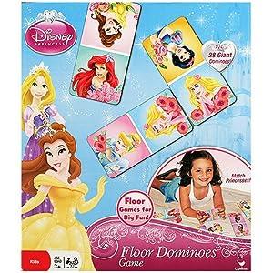 Amazon Com Disney Princess Floor Dominoes Game Toys Amp Games