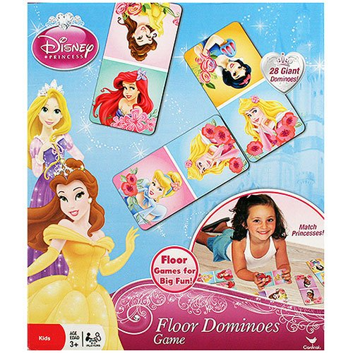 Disney Princess Floor Dominoes Game - 1