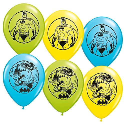 Batman Latex Balloons (6ct) - 1