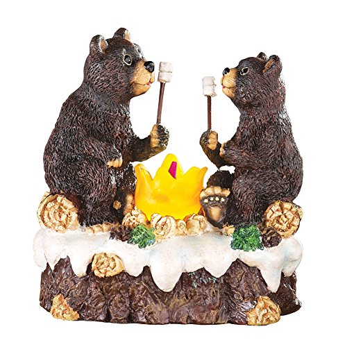 Woodland Bears Campfire Incense Burner (Cone Incense Campfire compare prices)
