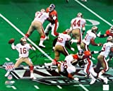 Joe Montana Autographed 16×20 Photo San Francisco 49'ers Super Bowl UDA