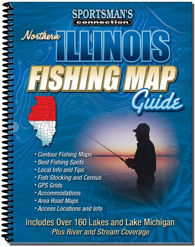 Northern Illinois Fishing Map Guide (Sportsman's Connection)