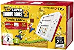 Nintendo 2DS - Konsole (White + Red) + New Super Mario Bros. 2