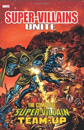 Super Villains Unite Complete Super Villain Team Up