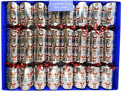 fill-your-own-christmas-crackers-knallbonbons-box-of-8-cheerful-santa-crackers-knallbonbons-on-silve