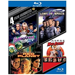 4 Film Favorites: Intergalactic Films [Blu-ray]