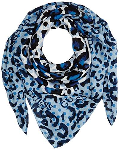 GUESS Damen Schal Scarf, Blau (Blu), One size (Herstellergröße: T/U) thumbnail