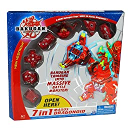 Bakugan 7-in-1 Maxus Dragonoid Products and Promotions