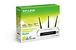 Router inalámbrico TP-LINK TL-WR940N N300, 300Mpbs, 3 antenas externas, IP QoS, botón WPS.