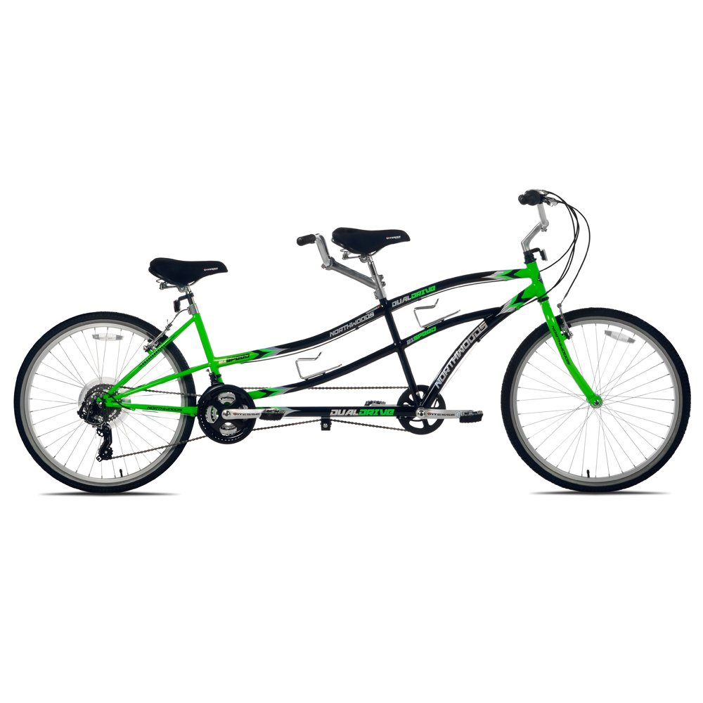 Fun tandem bicycle built for two!