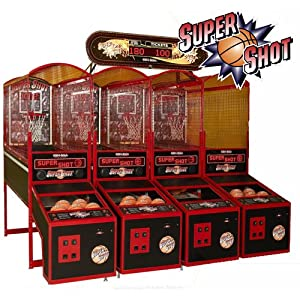Super Shot Deluxe Electronic Basketball Game by Skee Ball