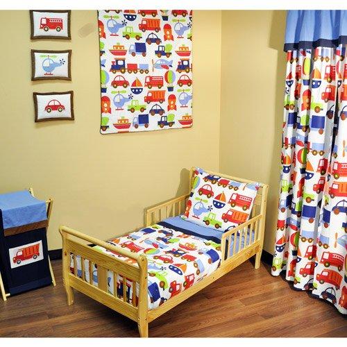 Imagen de Bacati - Toddler Transporte de conjuntos de planos