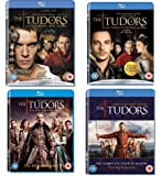 The Tudors: The Complete First, Second, Third, Fourth Season Collection Set [1 - 2 - 3 - 4] [Blu-ray]