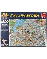 Jan Van Haasteren - Wacky Water World 1500pcs Puzzle