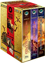 The Kane Chronicles Hardcover Boxed Set