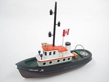 Jarrett M Starter Kit Bateau: Construisez votre propre brise-glace maquette en bois du navire