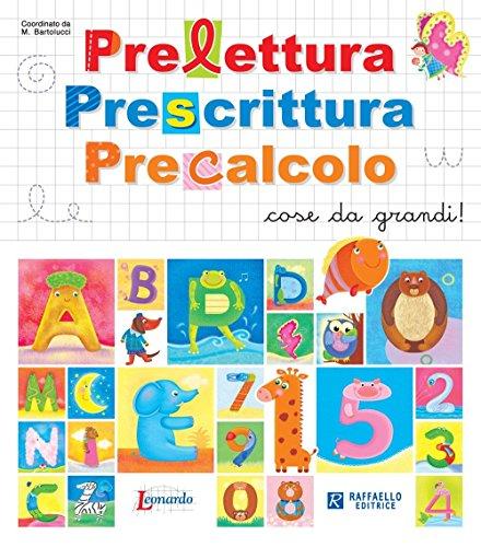 Libro precalcolo prelettura prescrittura imparare ad - Libri di scuola materna stampabili gratuitamente ...
