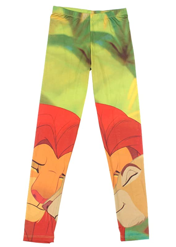 Hot Topic Women's Disney The Lion King Simba And Nala Leggings