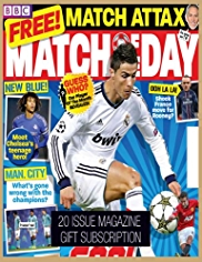 Match of the Day - Magazine Gift Subscription