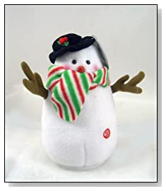 Laughing Farting SNOWMAN Plush animated Figurine Toy