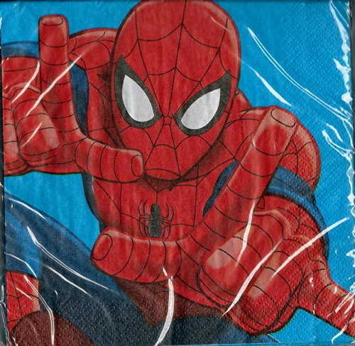 Marvel Ultimate Spider-man Napkins - 1