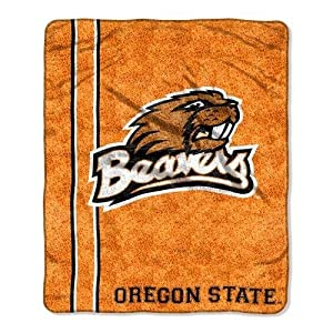 NCAA Oregon State Beavers 50-Inch-by-60-Inch Sherpa on Sherpa Throw Blanket Jersey... by Northwest