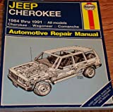 img - for JEEP CHEROKEE & COMANCHE AUTOMOTIVE REPAIR MANUAL All Jeep Cherokee and Comanche book / textbook / text book