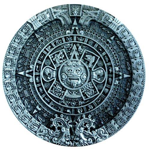 ANCIENT AZTEC CALENDAR MAYAN INDIAN belt Buckle