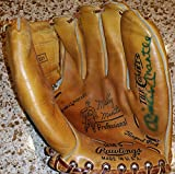 Mickey Mantle signed auto Rawlings Pro model MM5 baseball glove HOF - JSA Certified - Autographed MLB Gloves