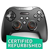 SteelSeries Stratus XL, Bluetooth Wireless Gaming Controller for Windows + Android, Samsung Gear VR, HTC Vive, and Oculus (Certified Refurbished) (Color: Black)