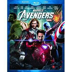 Marvel's The Avengers Two-Disc Blu-ray/DVD Combo Deal