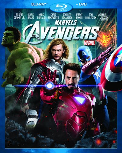 Cover art for  Marvel&#039;s The Avengers (Two-Disc Blu-ray/DVD Combo in Blu-ray Packaging)