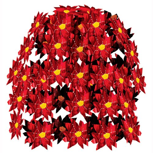 Poinsettia Cascade Party Accessory (1 count) (1/Pkg)
