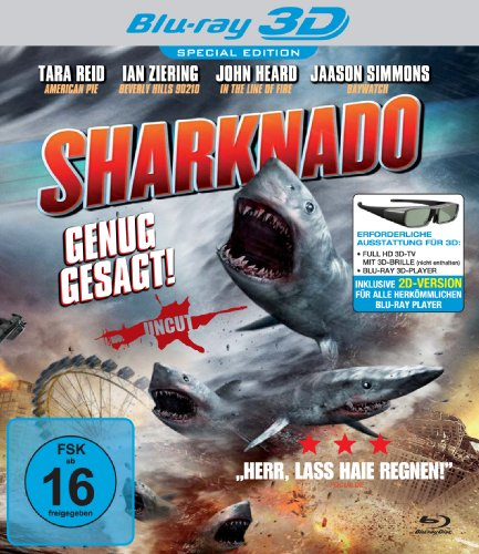 Sharknado 3D [Blu-ray] [Alemania]