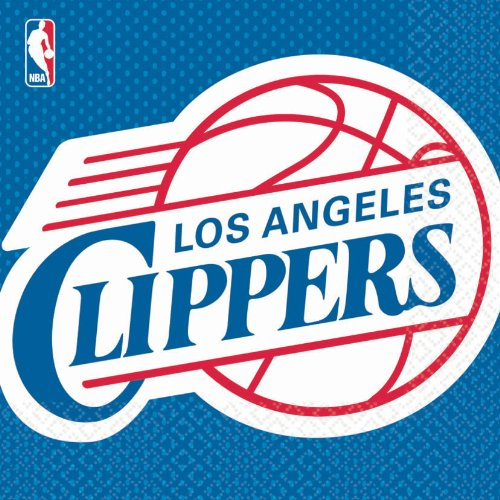 Los Angeles Clippers Basketball - Lunch Napkins Party Accessory