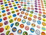 280 Childrens Reward Stickers for Kid...