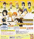 WORKING!! ワーキング ワグナリアマスコット ミニ フィギュア アニメ バンダイ(全5種フルコンプセット)