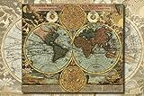 めざせ!パズルの達人 1000ピース ジ・アトラス 古地図 11-350