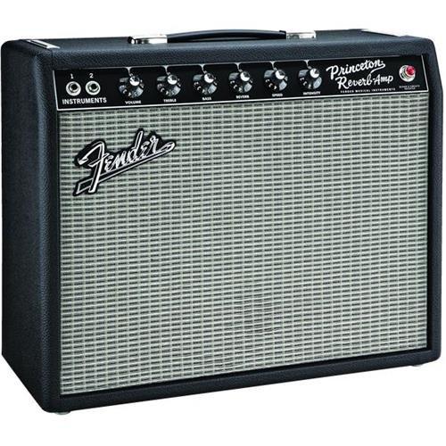 Fender `65 Princeton Reverb 15-Watt 1x10-Inch Guitar Combo Amp